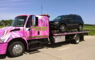 Overturned Vehicle Recovery-in-Kalona-Iowa