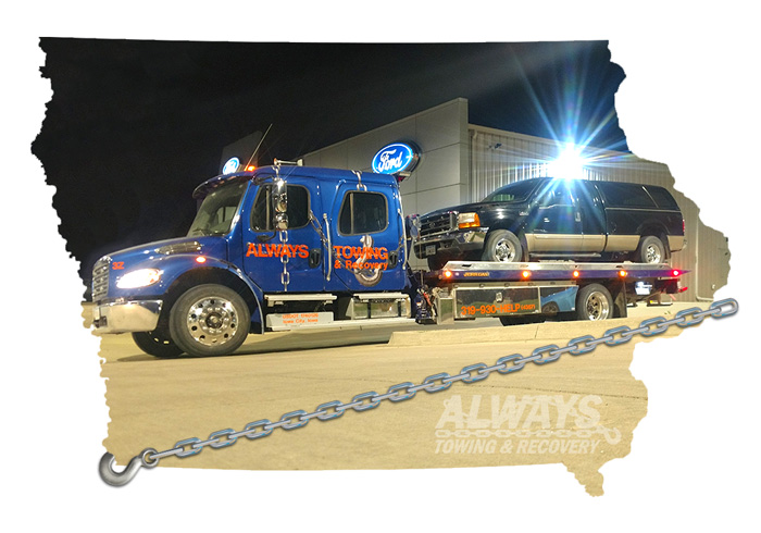 Towing in Iowa City Iowa